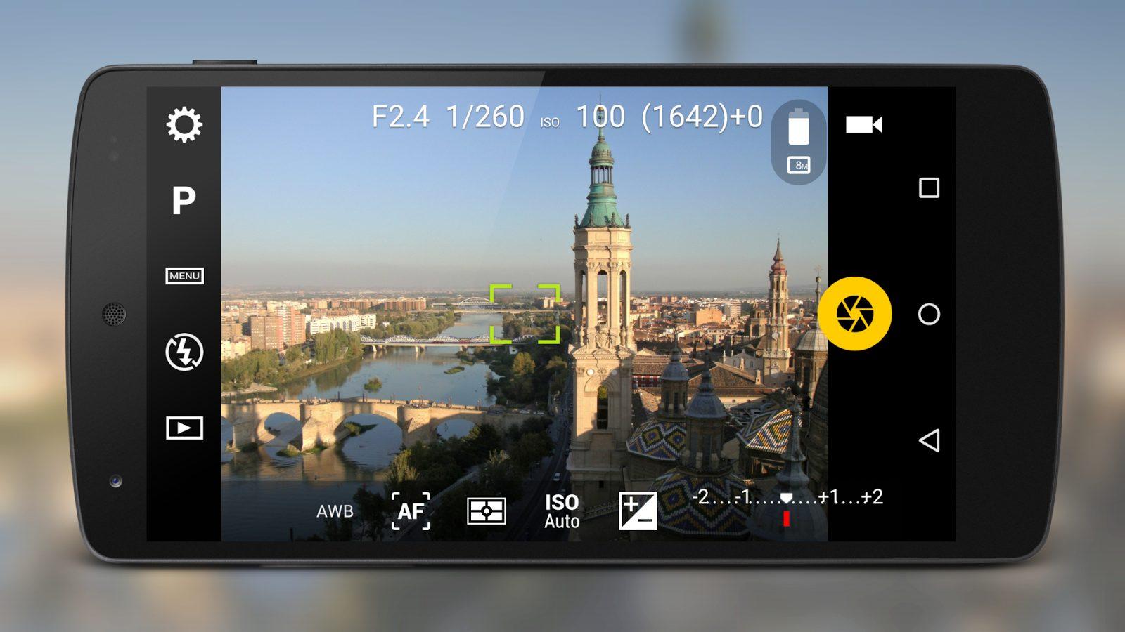 Phần mềm chụp ảnh quảng cáo Camera Fv5