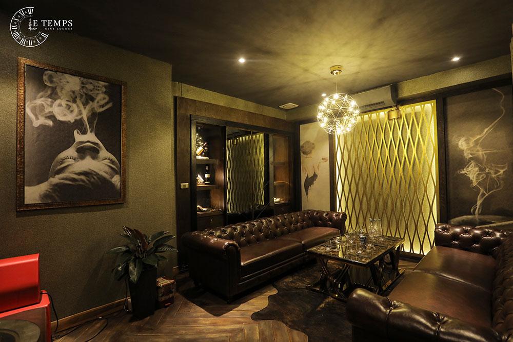 Chụp Ảnh Thương Hiệu LE TEMPS Wine Lounge số 1 VN