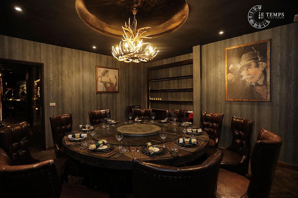 Chụp Ảnh Thương Hiệu LE TEMPS Wine Lounge chất lượng cao