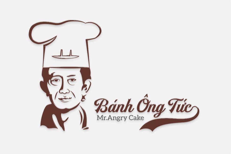 Thiết kế logo BÁNH ÔNG TỨC | Thiết kế LOGOAZ