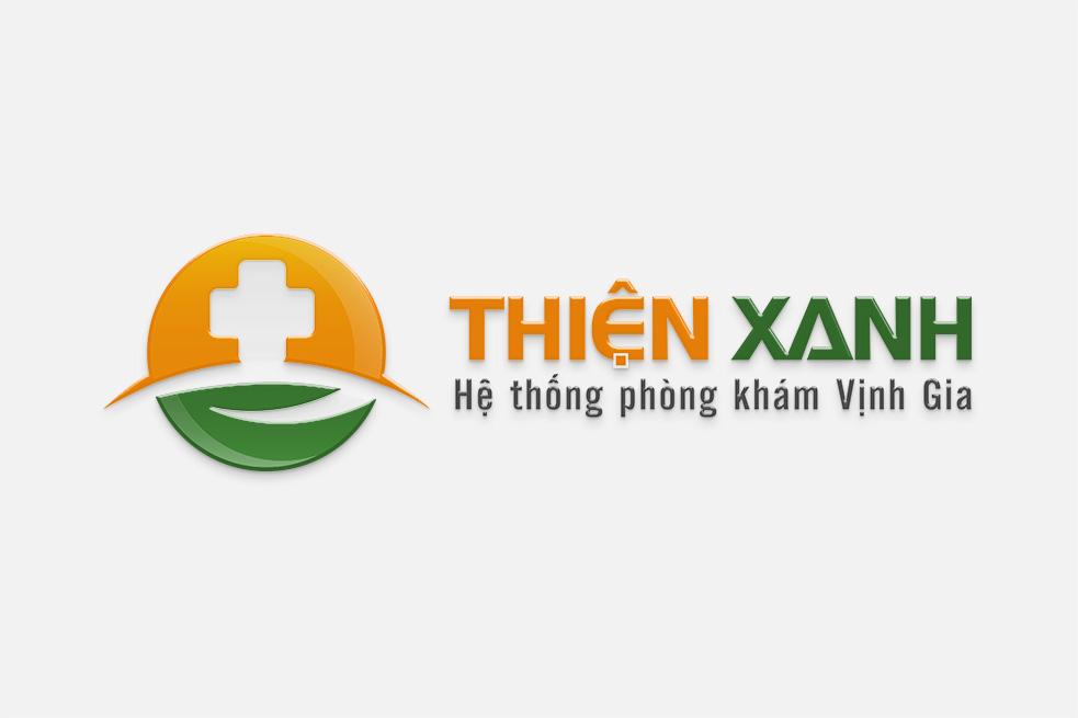 Thiết kế logo THIỆN XANH | Thiết kế LOGOAZ