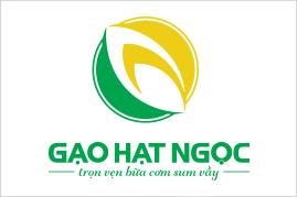 Thiết kế logo GẠO HẠT NGỌC | Thiết kế LOGOAZ