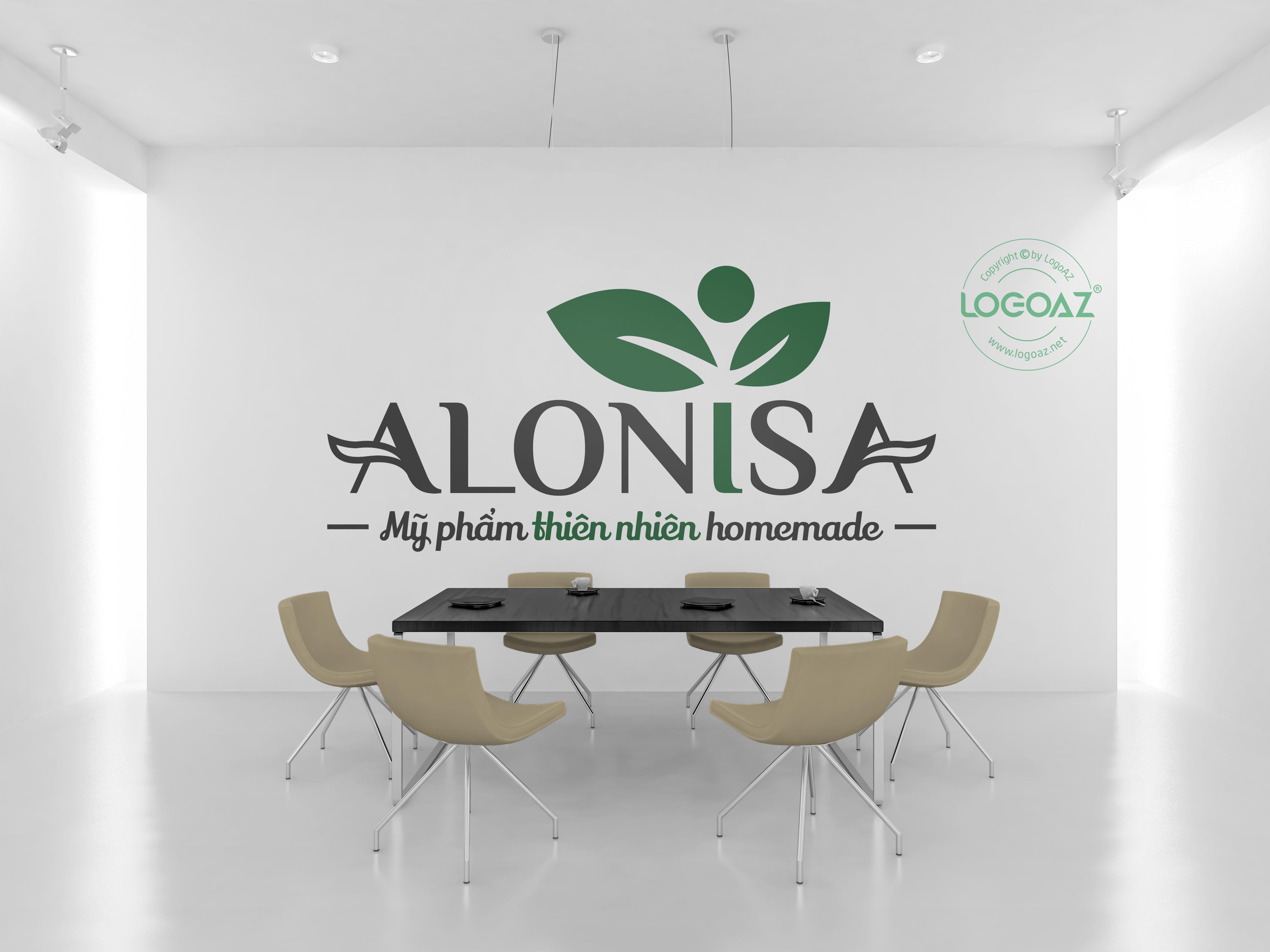 Thiết Kế Logo Thương Hiệu ALONISA Tại LOGOAZ