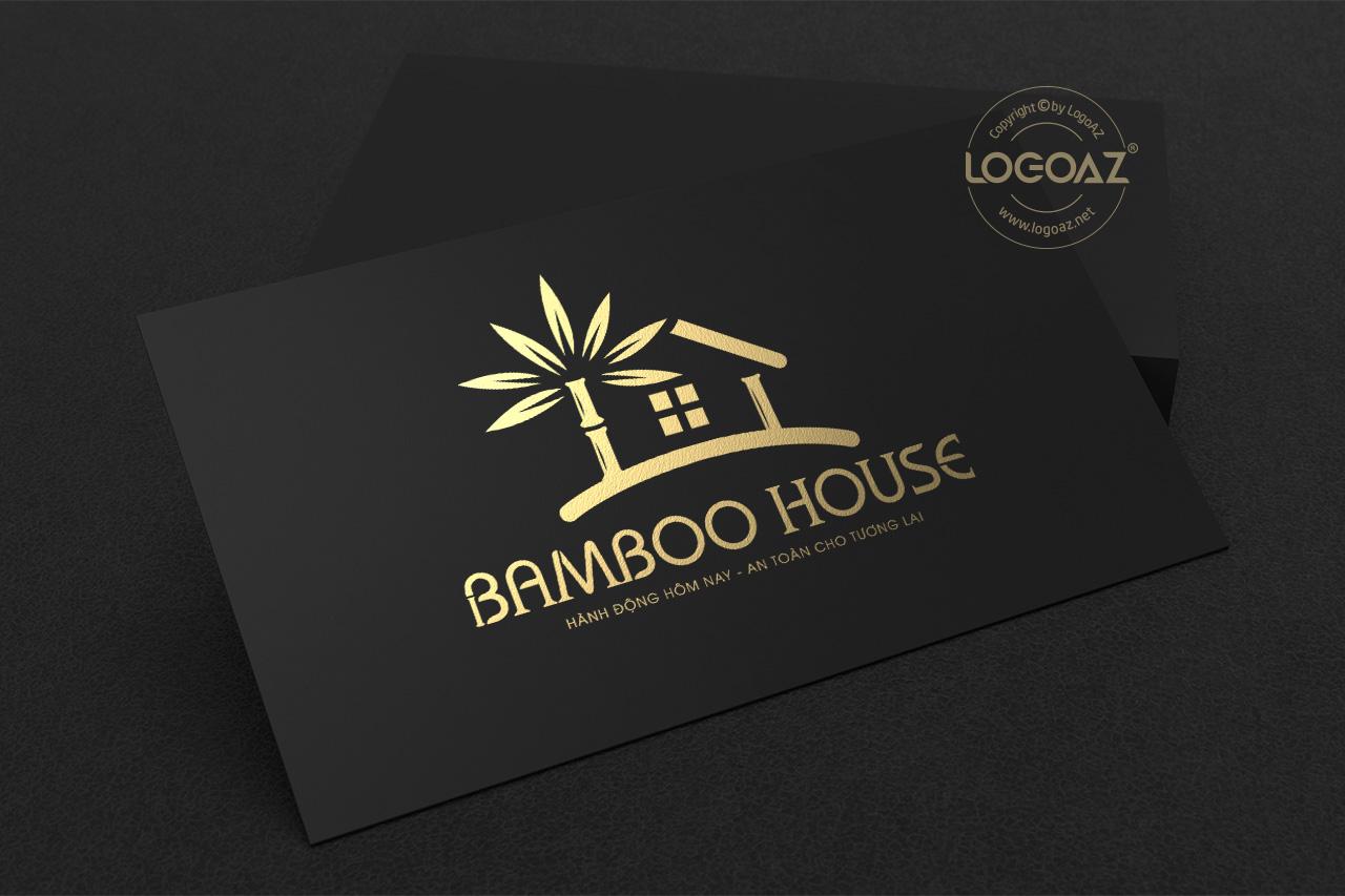 Thiết Kế Logo Thương Hiệu BAMBOO HOUSE Tại LOGOAZ