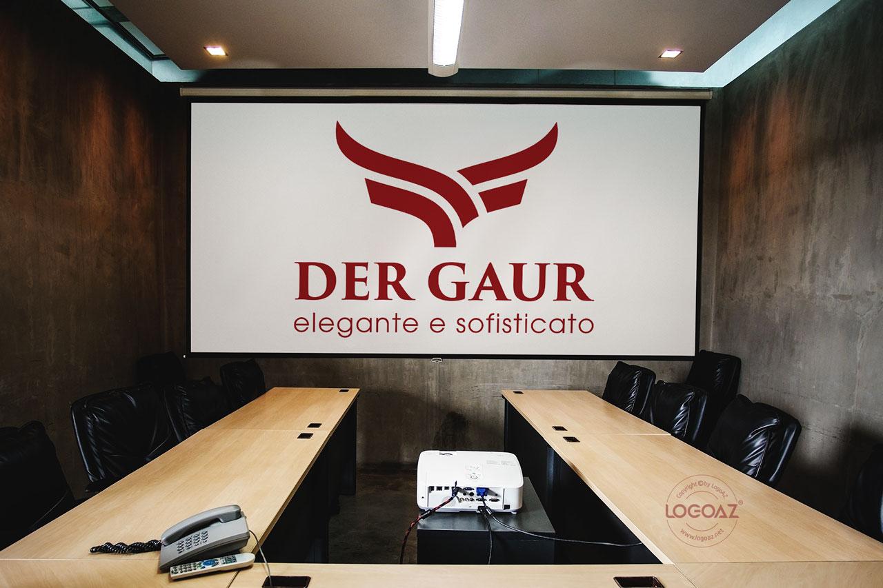 Thiết Kế Logo Thương Hiệu DER GAUR Tại LOGOAZ