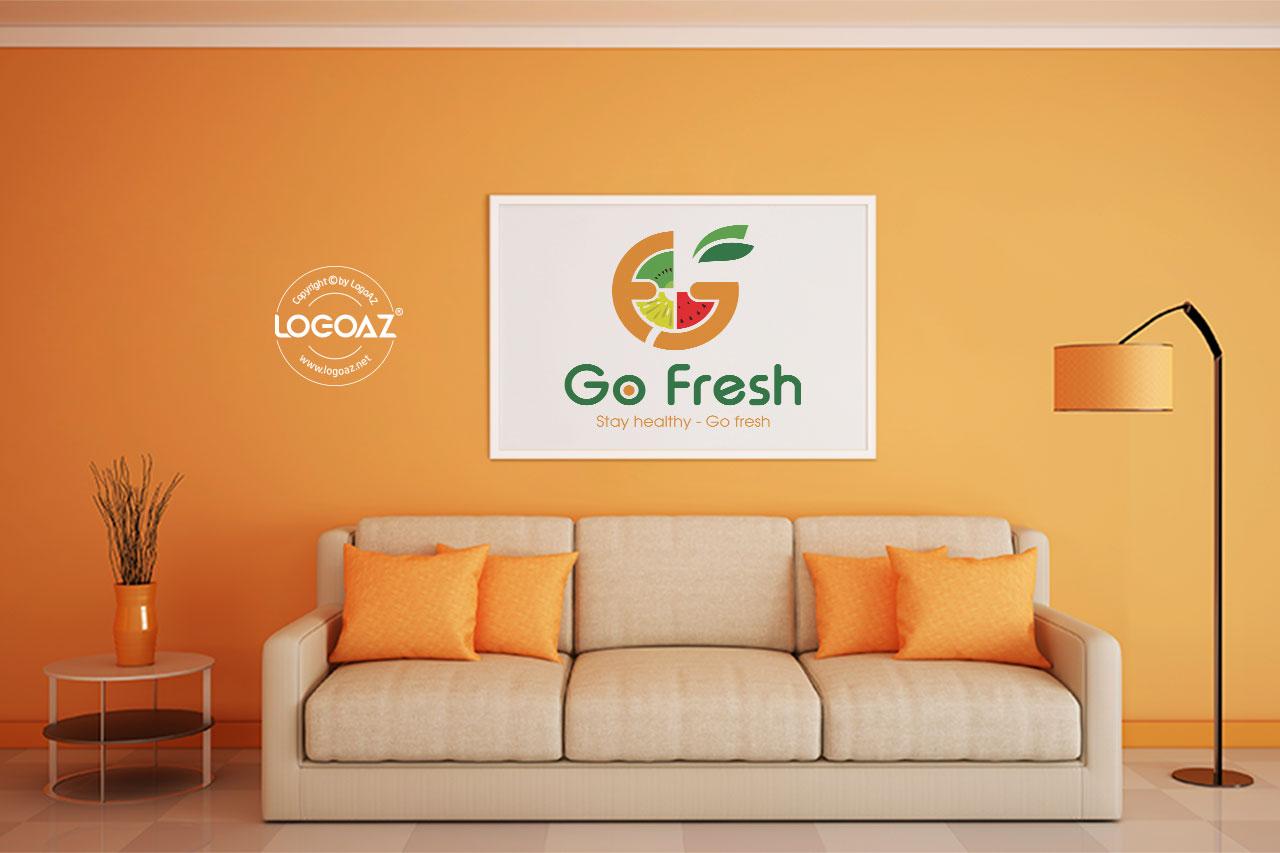 Thiết Kế Logo Thương Hiệu GO FRESH Tại LOGOAZ