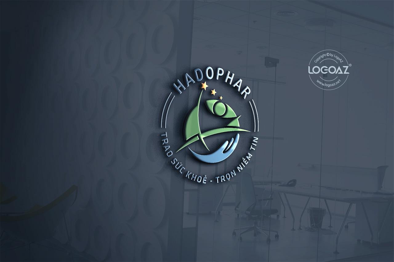 Thiết Kế Logo Thương Hiệu HADOPHAR Tại LOGOAZ