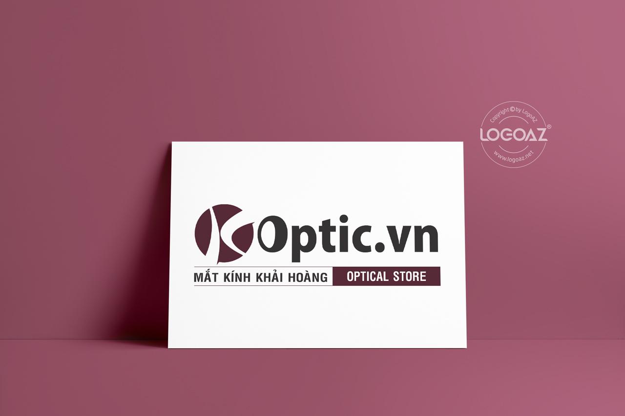 Thiết Kế Logo Thương Hiệu OPTIC.VN Tại LOGOAZ