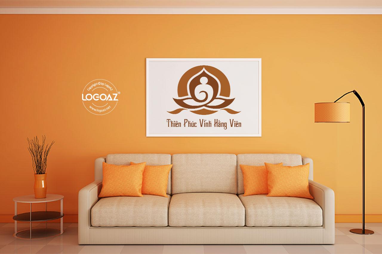Thiết Kế Logo Thương Hiệu THIÊN PHÚC VĨNH HẰNG VIÊN Tại LOGOAZ