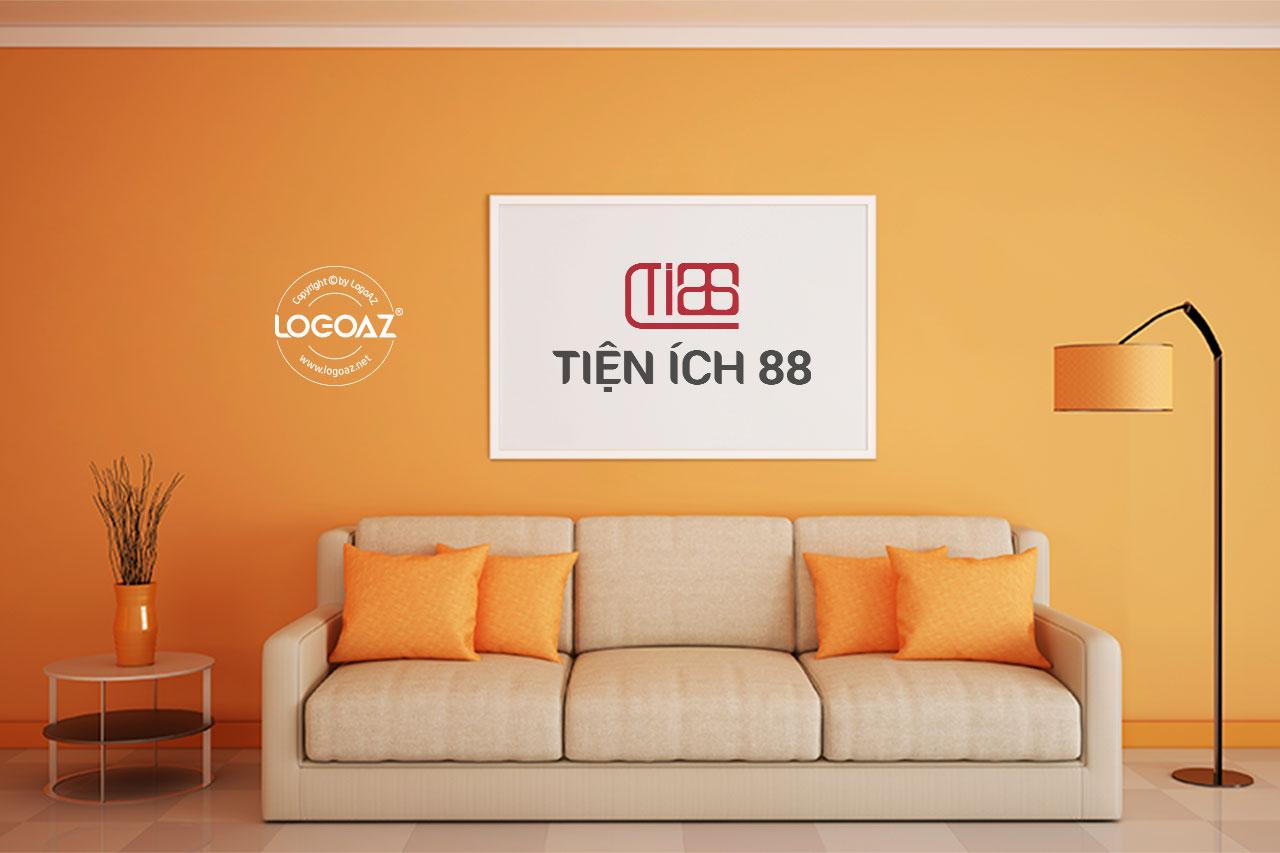 Thiết Kế Logo Thương Hiệu TIỆN ÍCH 88 Tại LOGOAZ