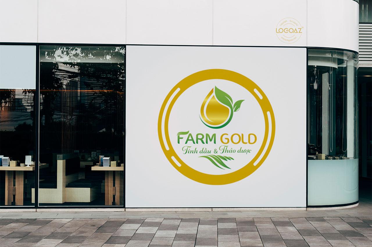 Thiết Kế Logo Thương Hiệu FARM GOLD Tại LOGOAZ
