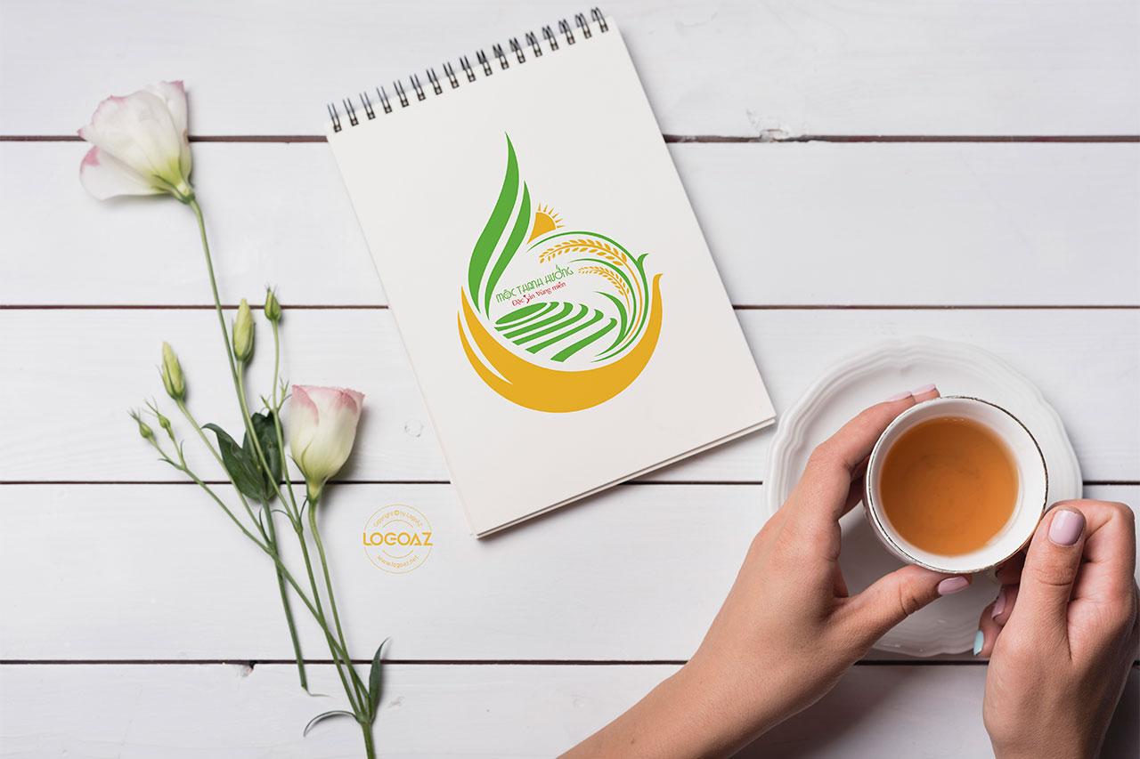Thiết Kế Logo Thương Hiệu MỘC THANH HƯƠNG Tại LOGOAZ