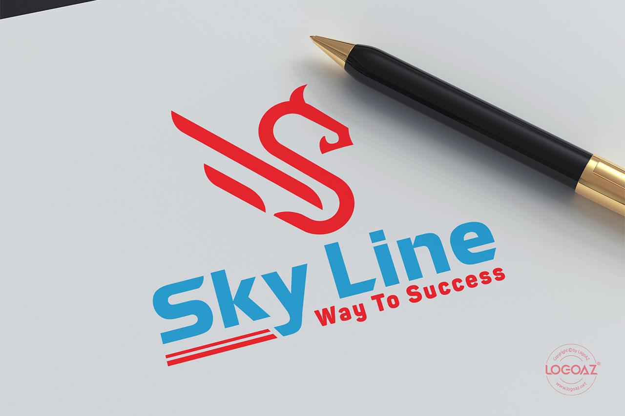 Thiết Kế Logo Thương Hiệu SKY LINE Tại LOGOAZ