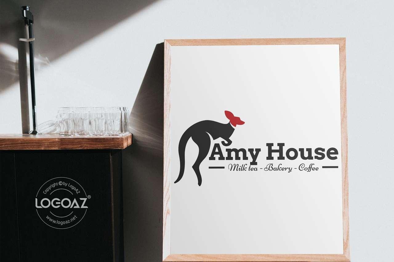 Thiết Kế Logo Thương Hiệu AMY HOUSE Tại LOGOAZ
