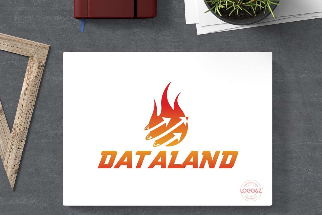 Thiết Kế Logo Thương Hiệu DATALAND Tại LOGOAZ
