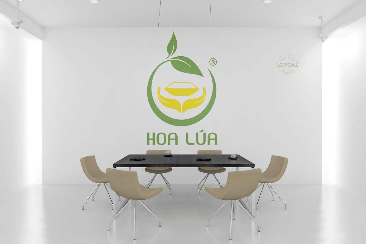 Thiết Kế Logo Thương Hiệu HOA LÚA Tại LOGOAZ