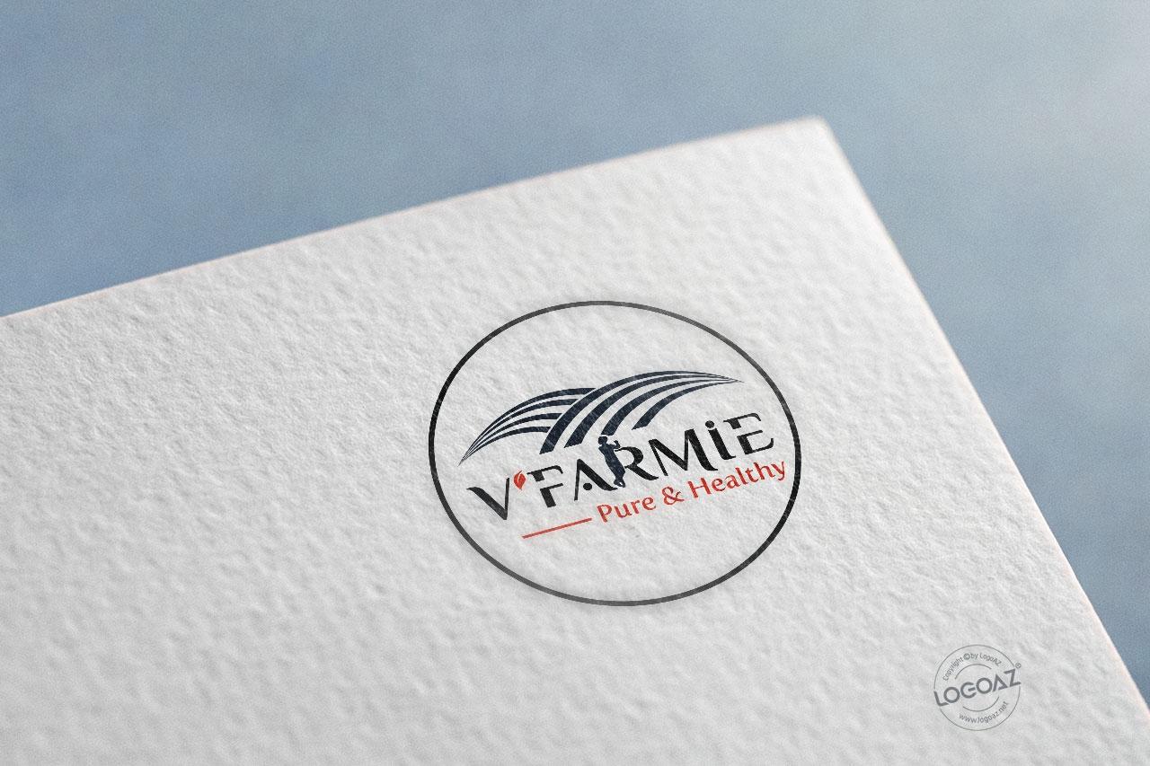 Thiết Kế Logo Thương Hiệu VFARMIE Tại LOGOAZ