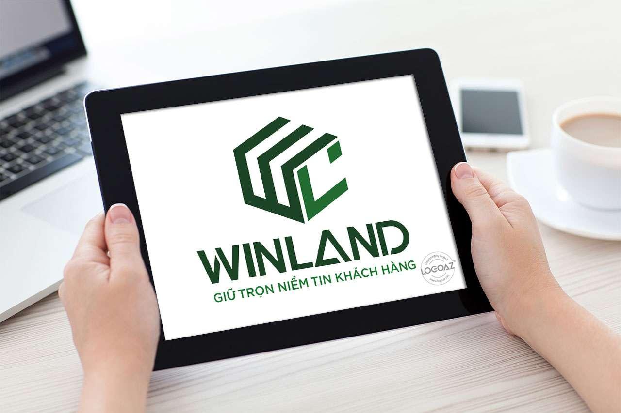 Thiết Kế Logo Thương Hiệu WINLAND Tại LOGOAZ