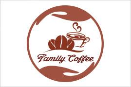 Thiết kế logo FAMILY COFFEE | Thiết kế LOGOAZ