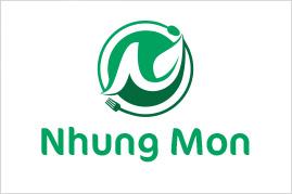 Thiết kế logo NHUNG MON | Thiết kế LOGOAZ