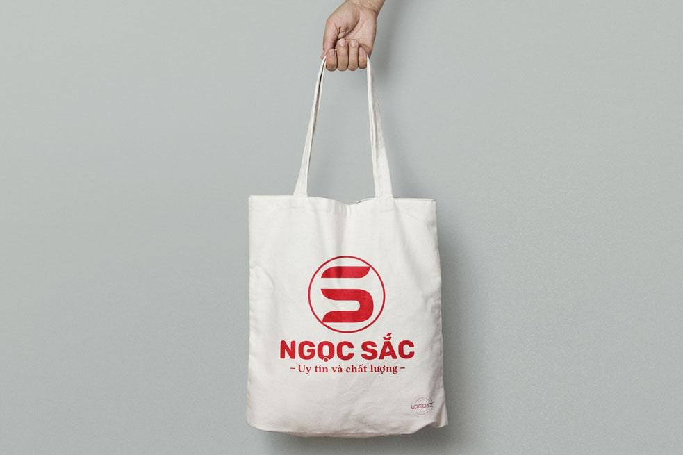 Thiết kế logo thương hiệu NGỌC SẮC | LOGOAZ