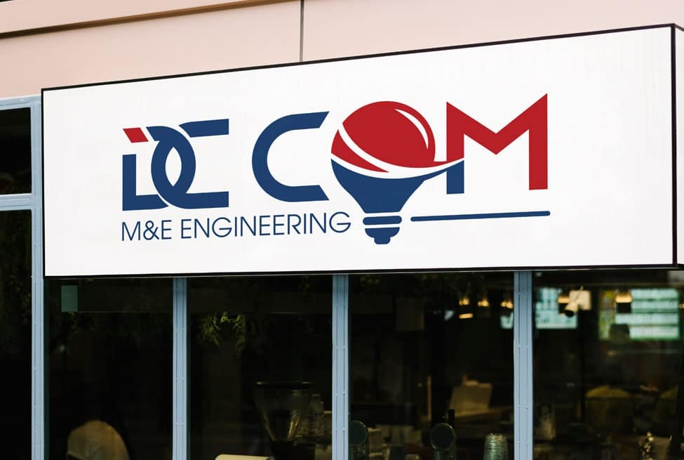 Thiết kế logo thương hiệu DC COM | LOGOAZ