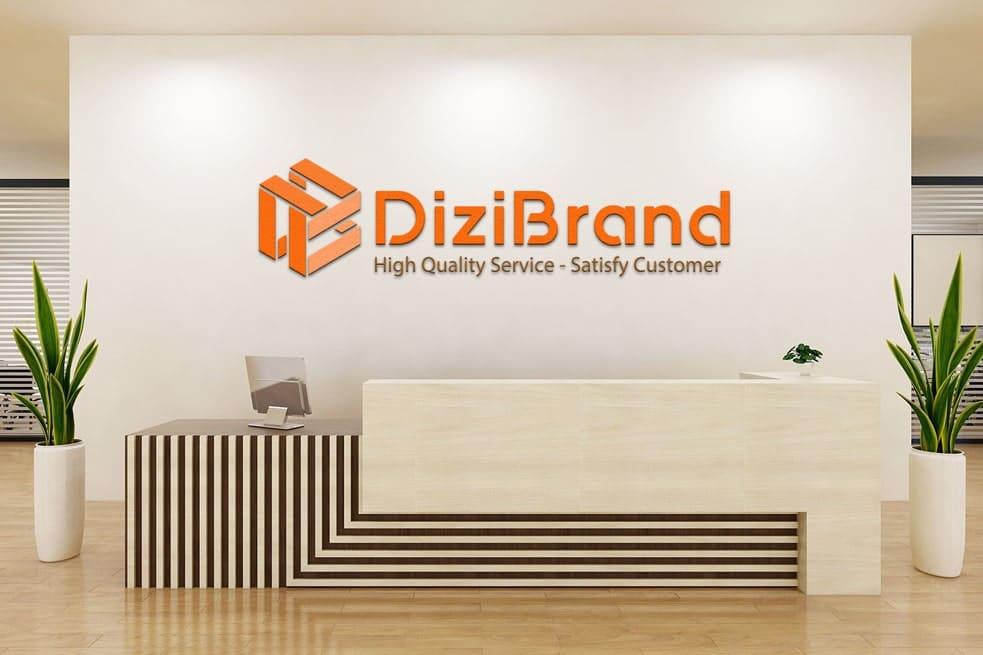 Thiết kế logo thương hiệu DIZIBRAND | LOGOAZ