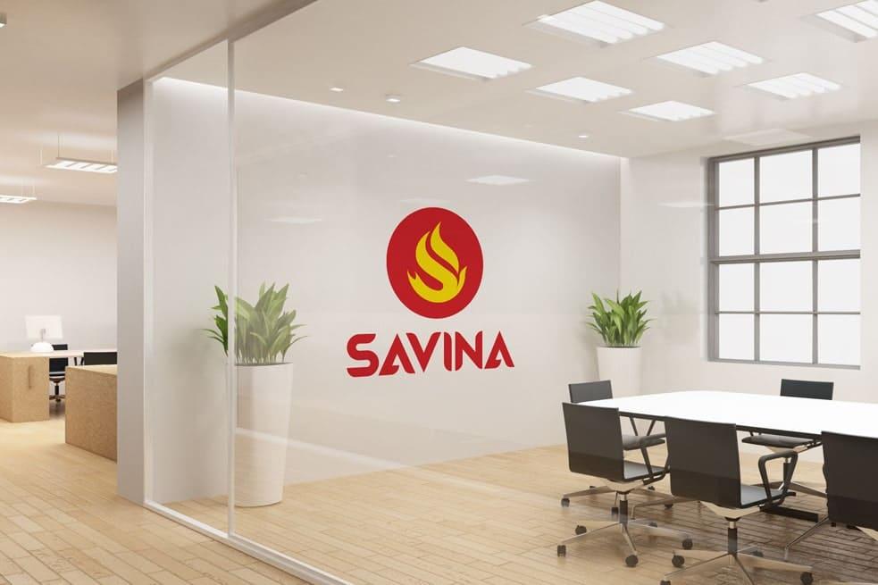 Thiết kế logo thương hiệu SAVINA| LOGOAZ