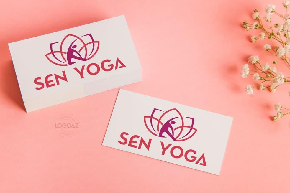 Thiết kế logo thương hiệu SEN YOGA | LOGOAZ