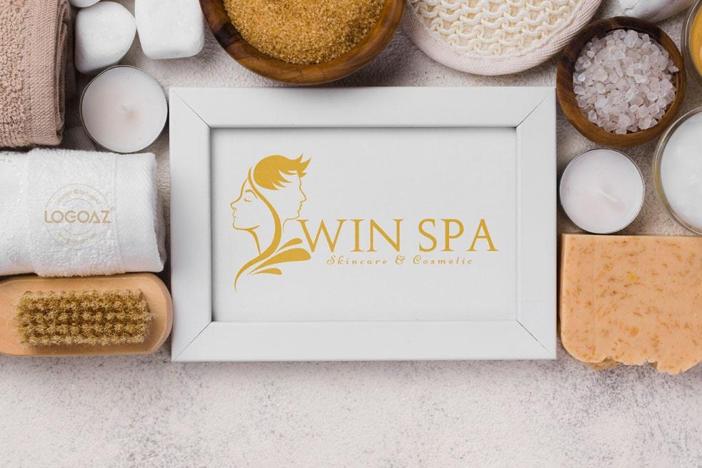 Thiết kế logo thương hiệu WIN SPA | LOGOAZ