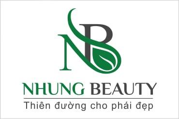 Thiết kế logo thương hiệu NHUNG BEAUTY tại LOGOAZ