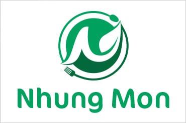 Thiết kế logo Nhung Mon tại LOGOAZ.NET