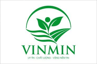 Thiết kế logo VINMIN tại LOGOAZ.NET