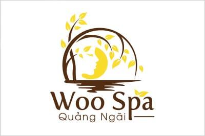 Thiết kế logo thương hiệu WOO SPA tại LOGOAZ.NET